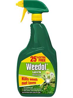 Weedol Lawn Weed Killer.